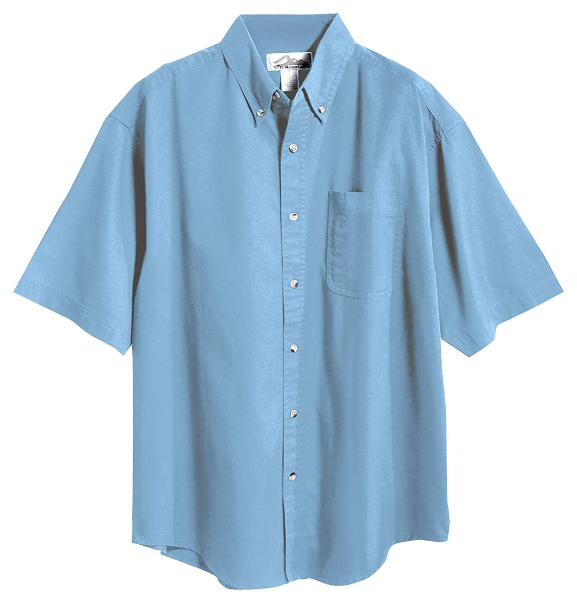 Tri-Mountain Mens 60//40 Mentor Easy Care Twill Woven Shirt 7 colors, S-6XLT