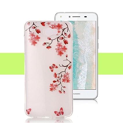 Amazon.com: Huawei Y5 II/Y5 2 Caso yunbaozi IMD TPU Cubierta ...