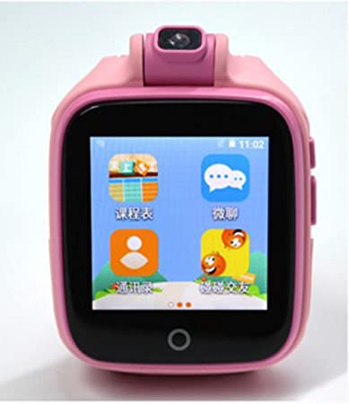 M2T 4G Network Smart Watch for Kids, Camera GPS/LBS/WiFi Tracker SOS Social Children Watch Phone, APP Compatible for iOS Android, Touch Screen