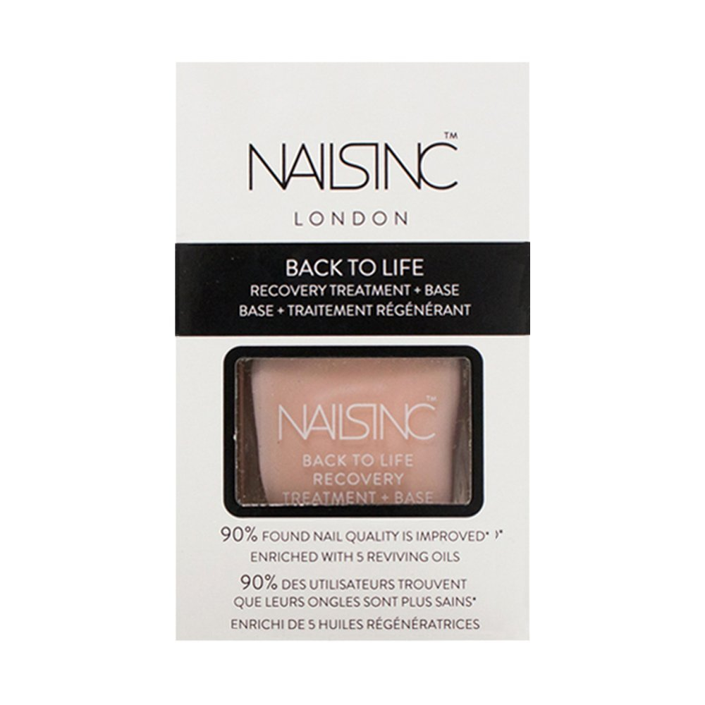 Nails Inc Back to Life Recovery Treatment and Base Coat 9262