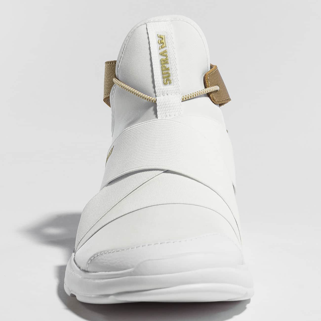 Supra Women's M Anevay Shoes B074KJNWB9 8.5 M Women's US|White/Gold-white 3e30c4