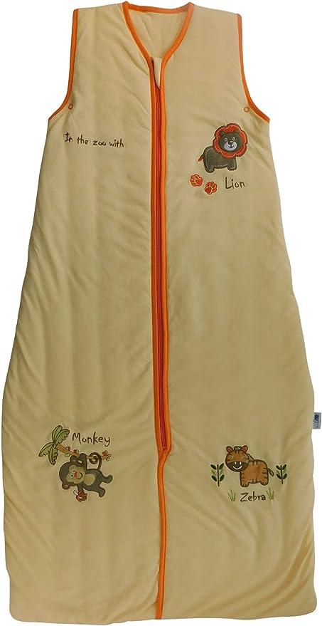 Bebé de Verano Saco de dormir 1 Tog - zoo, 110cm/18-36 meses: Amazon.es: Bebé