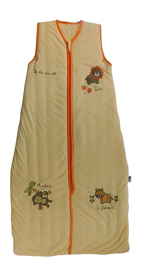 Bebé de Verano Saco de dormir 1 Tog - zoo, 110cm/18-36 meses