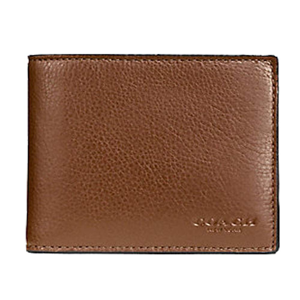 4f6976151b67 Amazon.com  Coach Compact ID Wallet in Sport Calf Leather (Dark Saddle) -  F74991 CWH  Net2plus2