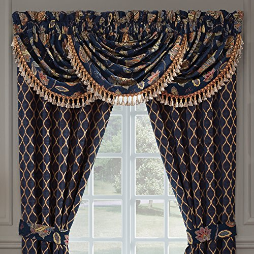 Croscill 2AM-480O0-1724/990 Julien Waterfall Valance - Croscill Window Treatments