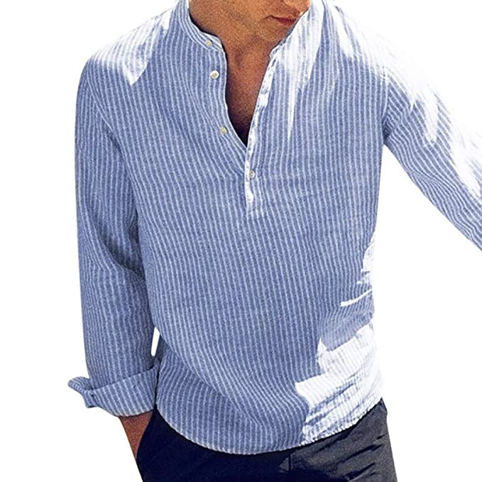 Amazon.com: MIS1950s - Camiseta de manga larga para hombre ...