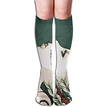 CVDFVFGB Compression Socks Girl Hair People High Boots ...