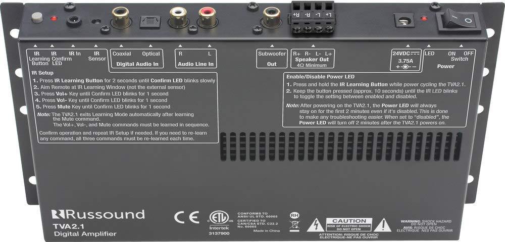 Russound TVA21 2 Channel TV Amplifier