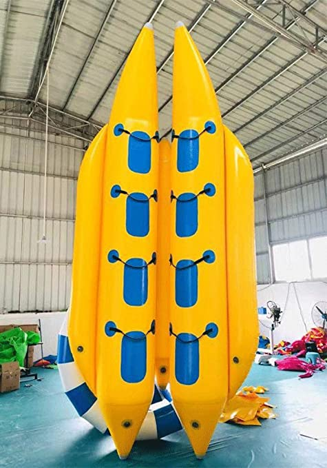 JYNsell - Barco Inflable para 8 Personas (PVC, Incluye ...