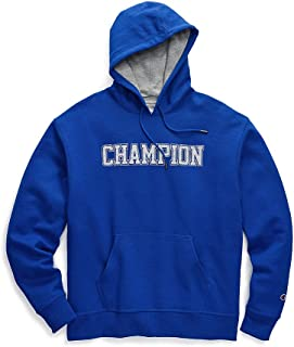 Champion Mens Graphic Powerblend Fleece Hood Sweatshirt GF89H