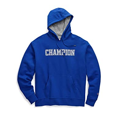 68a02ab42dc8 Champion Men s Powerblend Fleece Pullover Hoodie