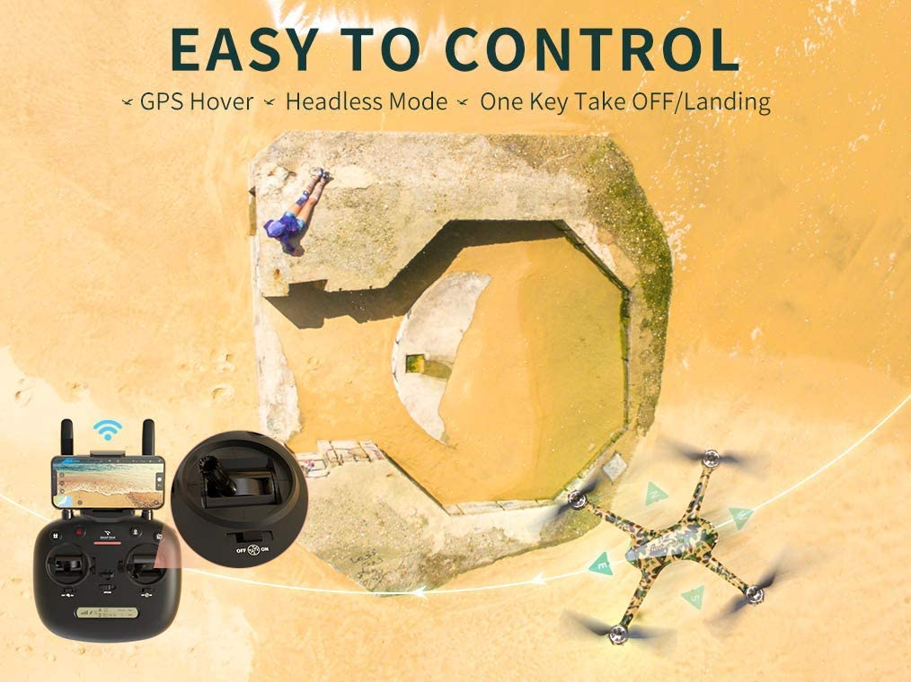 Snaptain SP700 is at #9 for best drones under $300