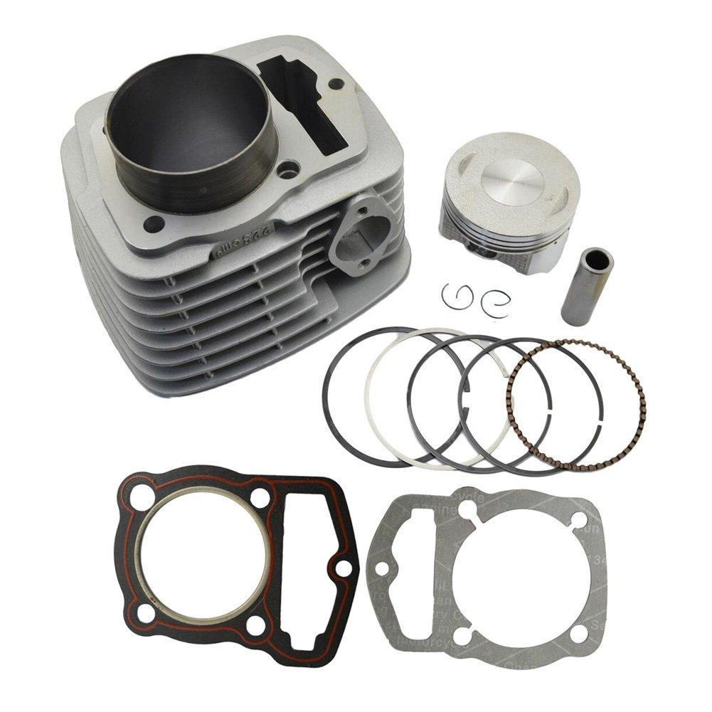 AHL Cylinder Head & Piston Kit & Gasket Set for Honda CRF230 2003-2014 / FTR223 FTR230 2003-2005