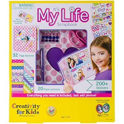 Creativity for Kids It's My Life Scrapbook Kit: Toys & Games