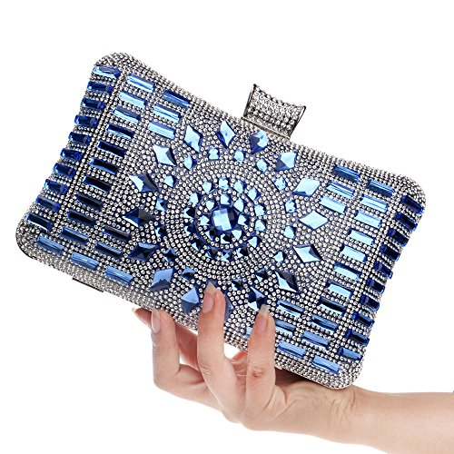 Bleu Pochette ClutchBag01 pour blue bleu ZAMAC femme ZAMAC bleu BwqTdzn