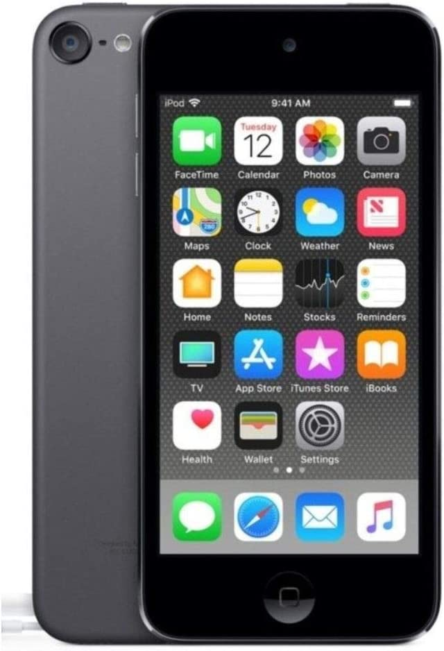 Apple iPod Touch, 6th Generation with FaceTime, Space Gray 32GB