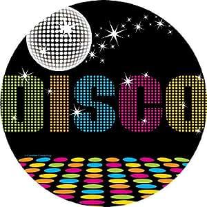 Amazon.com: 70's Disco Theme Party Lunch Plates x 8: Toys