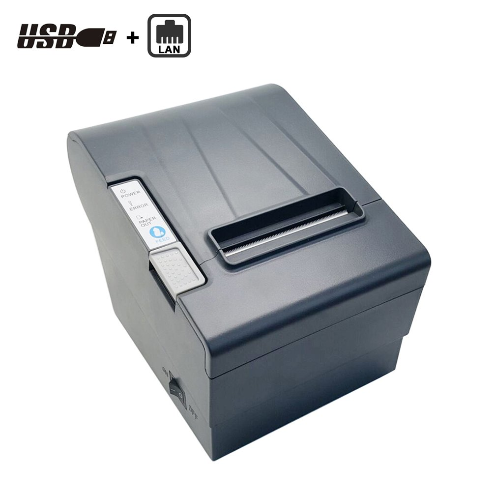 USB Port POS Thermal Receipt Printer--SGT-88III 80MM Desktop Monochrome Thermal Printer.