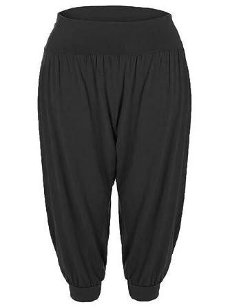 Kids Girls Plain Harem Baggy Full Length Ali Baba Leggings Bottom Trousers Pants