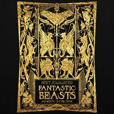 Spreadshirt Phantastische Tierwesen Fantastic Beasts Buchcover Stoffbeutel