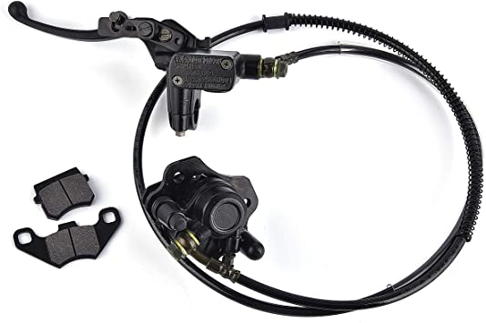 Front Disc Brake Master Cylinder Hydrualic Caliper Assembly for 70// 90//110//125cc