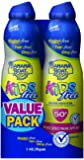 Banana Boat Kids Ultra Mist Tear-Free Sting Free Twin Pack Sunscreen Spray SPF 50, 6 Ounce, 2 Count (Pack of 6)