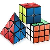 Roxenda Speed Cube set, Magic Cube set di 2x 2x 23x 3x 3piramide cubo liscio puzzle Cube