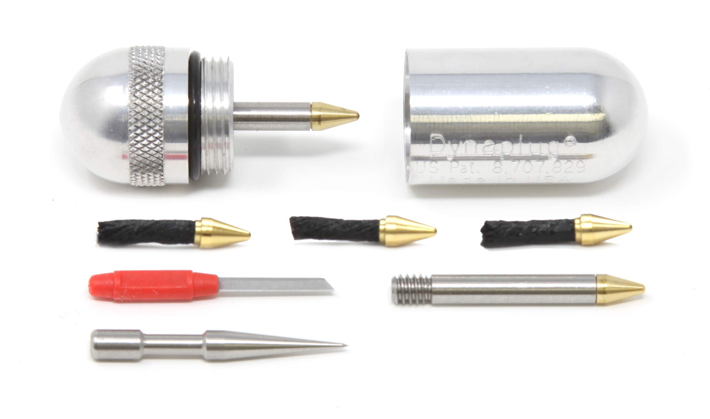 Dynaplug Micro PRO with Extra Package of Bullet Plugs by Dynaplug