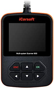 iCarsoft i930 Pro Multi System Diagnostic OBD2 Scanner for Landrover/Jaguar ABS SRS