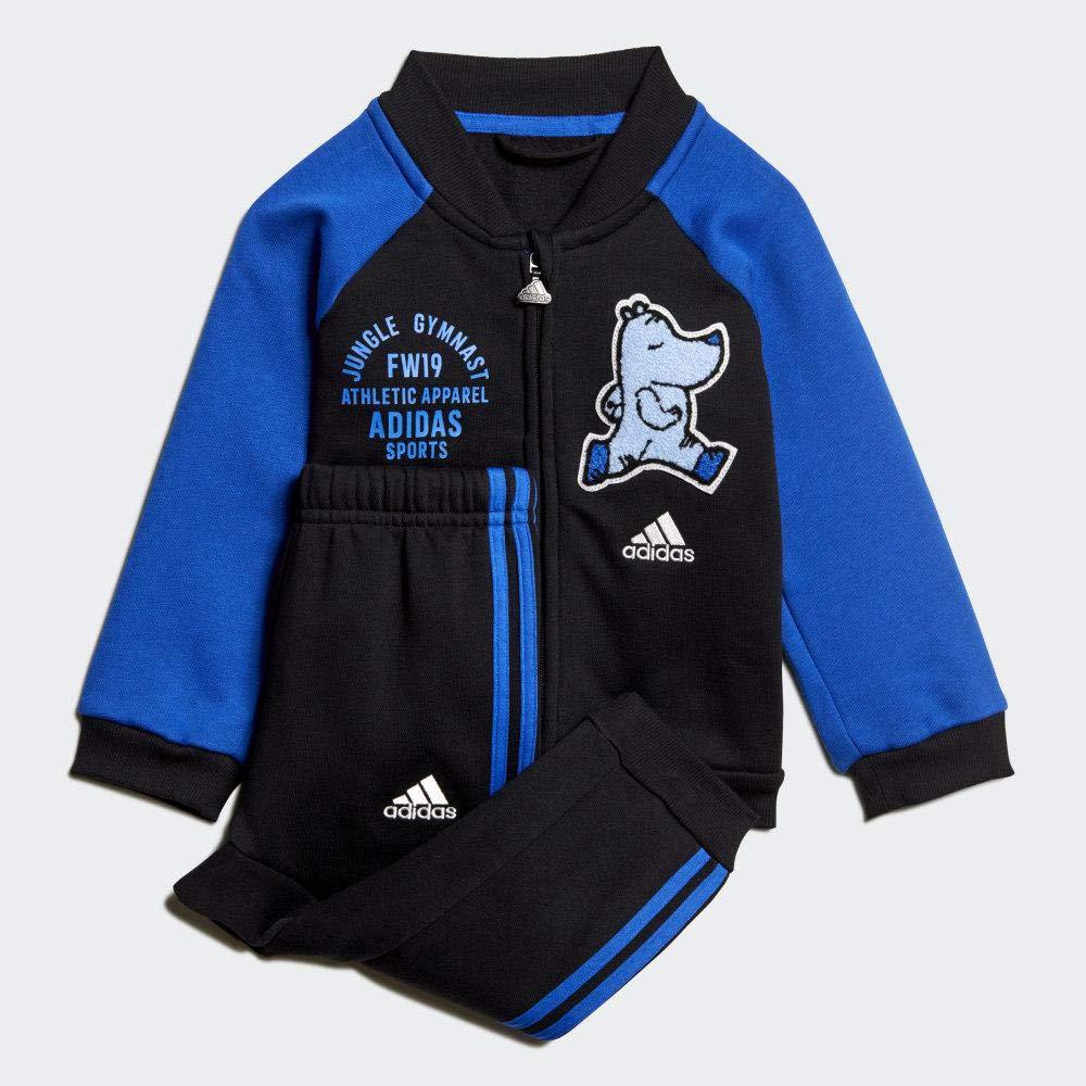 adidas I Bball Jog FL Chándal, Bebé-Niños: Amazon.es: Deportes y ...