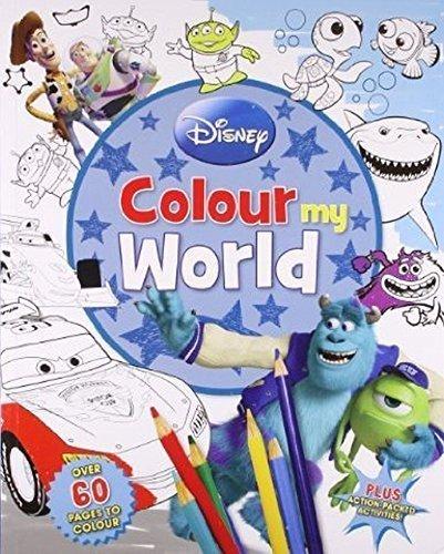 Disney Pixar Infinity Colour My World Scenes Book