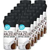 Amazon Brand - Happy Belly Powdered Non-dairy Hazelnut Coffee Creamer, 15 Ounce (Pack of 12)