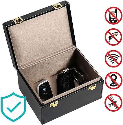 DokFin Caja de Faraday, Llaves de Coche RFID señal de Bloqueo de ...