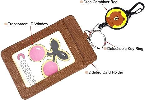 Toymytoy Portatessera cactus Bus copertura della carta di credito portachiavi portachiavi per studenti 3 Cactus C