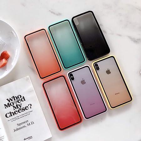 Fantasyqi Fundas Compatible con iPhone XR Funda Placa Trasera Transparente Antigolpes TPU Bumper y Transparente Cristal Templado Case de Protectora Anti-Golpes Ultrafina