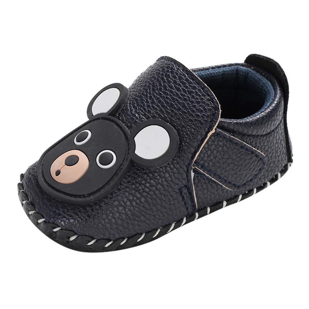 DDKK Kids Sneakers Sport Running Shoes Newborn Baby Girls Boys Cartoon Anti-Slip First Walkers Soft Sole Shoes 0-15 M