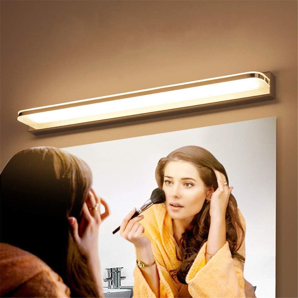 Elitlife 3W Spiegellampe Led Badleuchte 3000K Warmwei/ß IP44 wasserdicht 23CM,Spiegelschrank Lampe leuchte Spiegelleuchte Wandleuchte LED Spiegellampe Badlampe Badleuchte Acryllampe LED Spiegelleuchte