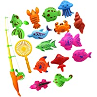 Skky bell Fishing game for kids with 6 fish