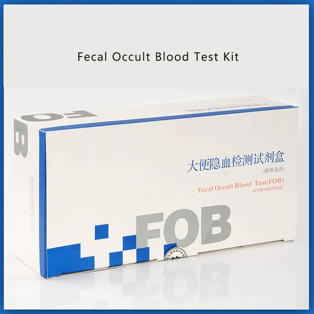 Dzwj Medical Household Fecal Occult Blood Test Strips For Fecal Occult Blood Test For Colorectal Cancer Detection 100 Article Amazon Co Uk Sports Outdoors