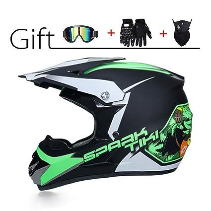 Amazon.es: MY1MEY Casco de Motocross - Casco de moto para ...