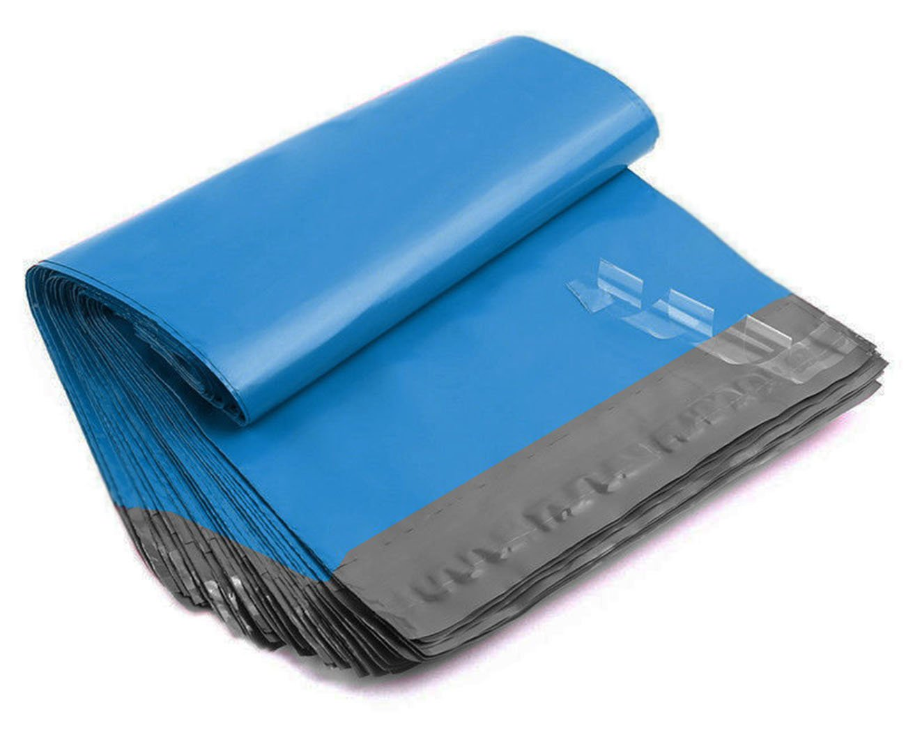 iMBAPrice Poly Mailers Shipping Envelopes Bags, 10 x 13 - inches , 100 Bags (Blue)