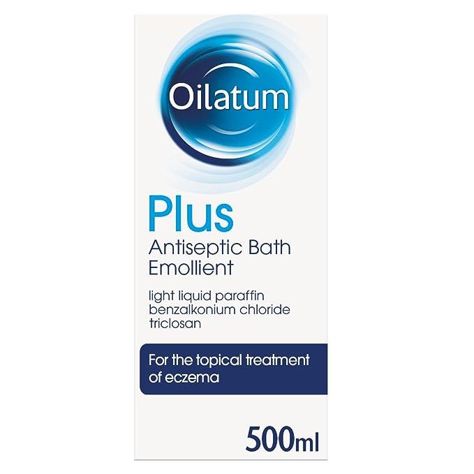 Oilatum Plus Eczema Antiseptic Emollient Bath Additive, 500