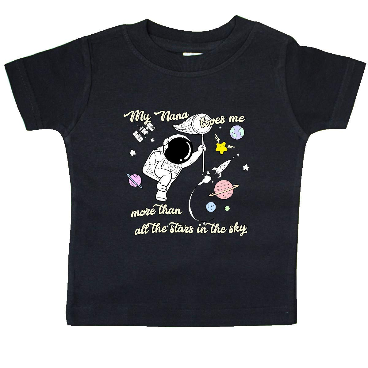 inktastic My Nana Loves Me Baby T-Shirt