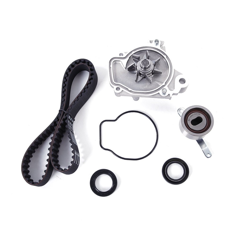 Timing Belt Water Pump Kit Fit for Honda Civic EX del Sol 1.6L SOHC 1992 1993 1994 1995 D16Z6 Engine Roadstar