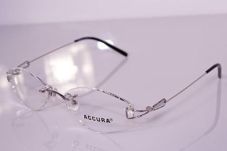 Accura ZM-5-21 53/17 Randlose Brille Fassung hochwertige Markenbrille Gestell BoXBP
