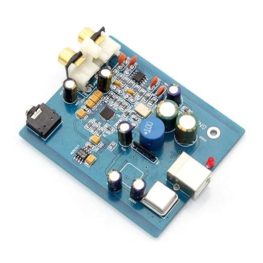 TAOHOU SA9023 + ES9018K2M USB DAC 24BIT 96K Entrada USB RCA ...