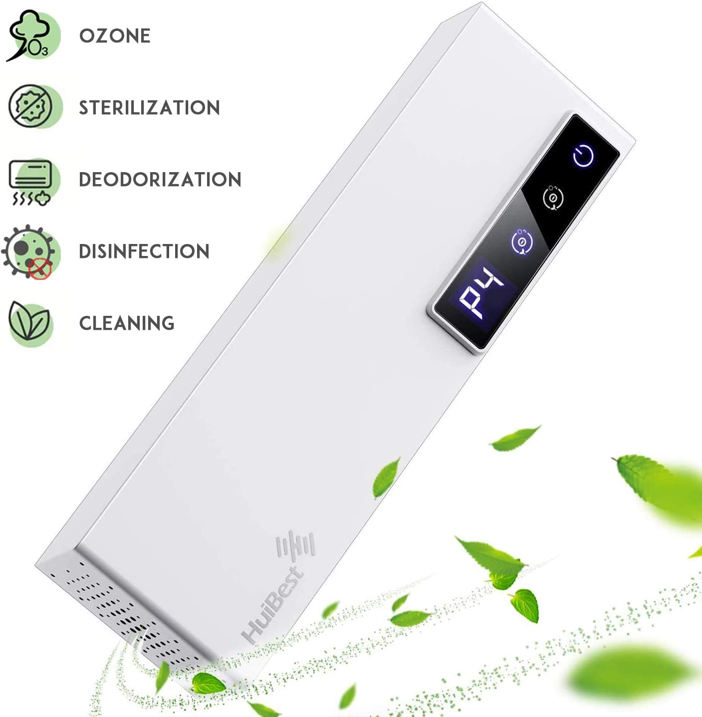 HUIBEST 2020 Newest Ozone Generator Air Purifier, Air Purifier for Home, Ozone Machine Air Ionizer Fresheners Deodorization, Mini USB Air Cleaner for Odors Eliminating, Hotel, Room, Kitchen, Pets&Cars