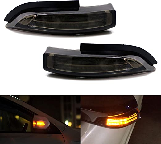 amazon com ijdmtoy jdm smoked lens amber sequential flash led side mirror turn signal blinker light assembly compatible with toyota prius c venza avalon corolla im etc automotive ijdmtoy jdm smoked lens amber sequential flash led side mirror turn signal blinker light assembly compatible with toyota prius c venza avalon