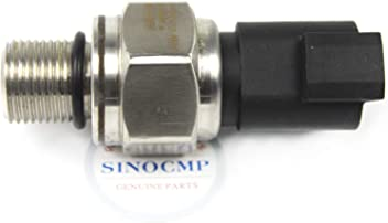 SINOCMP Pressure Sensor for Volvo EC210 EC240 EC290 EC330 EC360 EC460 B BLC Construction Equipment Excavator Parts 3 Month Warranty VOE14529294 VOE 14529294 Pressure Switch