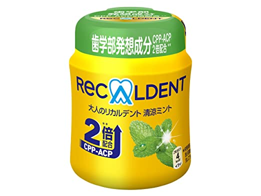 【送料無料】 140g×6個 リカルデントさっぱりミントボトルR モンデリーズ